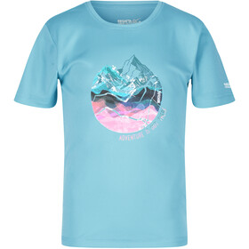 Regatta Alvarado V Camiseta Niños, cool aqua